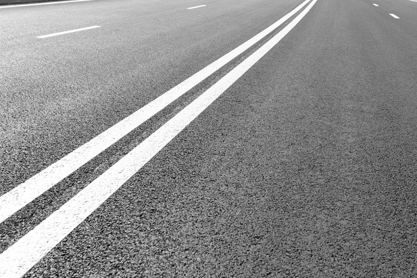 What Does a White Line On The Road Mean?