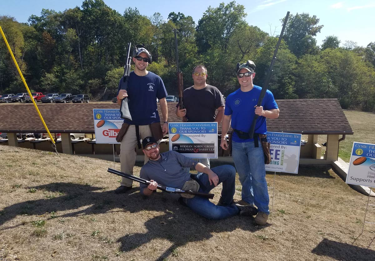 BSGFD attorneys take part in trap shoot event